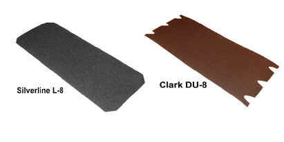 Cut sheet floor discs