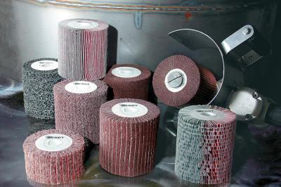 Abrasive flap rolls